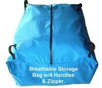 Custom-made dome storage bag