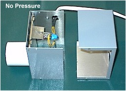 On Position of Dome Pressure Switch