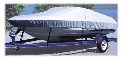 Custom Fit Boat Travel Covers in Sunbrella and Marine Polyester