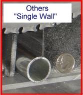 Alternative single wall constructions