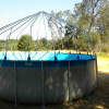 Installed framework for Fabrico Dome