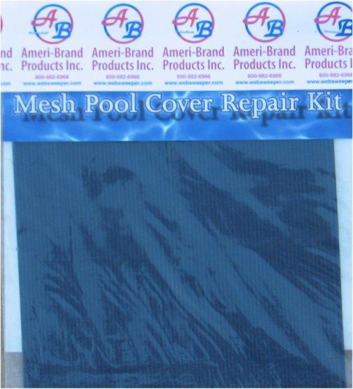 Swimming Pool Cover Repair : Mesh safety swimming pool cover repair kit ebay