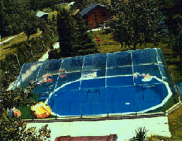 Arial Photo of an Inground Sun-dome