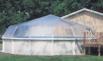 Fabrico Sundome Photos 01 Vinyl Domes On Above Ground Pools