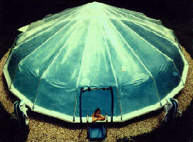 Fabrico Sundome Photos 01 Vinyl Domes On Above Ground