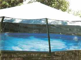 Fabrico Sundome Photos 04 Screen Dome on Above Ground Pool