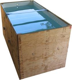 Custom vinyl tank liner