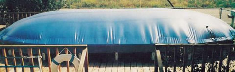 Above-Ground Pool Hover Cover