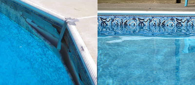Carousel Swimming Pool Liner First