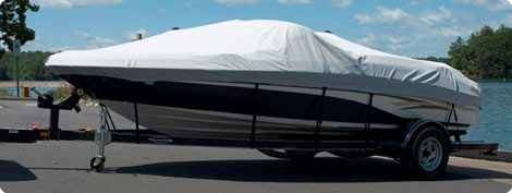 Semi-Custom Boat Covers in Polyester, Boat Duck (Cotton), and Double Duck (50/50 Poly-Cotton)