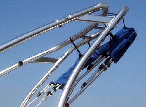 Bimini Tops Boats With Ski And Wakeboard Towers