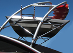 Tower with Bimini Boat Top