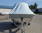 double reinforced bow boat cover