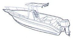 T Top Boat Cover