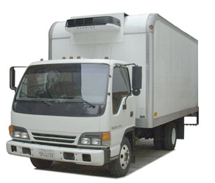 Spa Cover Shipping Truck