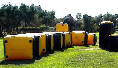 Paintball Bunkers - Singles or Field Sets