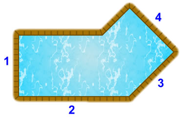 Lazy L (right) pool diagram