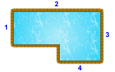 True L (left) pool diagram