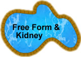 Free-form and kidney pools