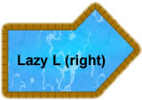 Lazy-L Right Swimming Pool