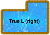 True L Right Inground Pool