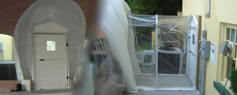 Airlock Entry Systems for Swimming Pool Domes and Bubbles