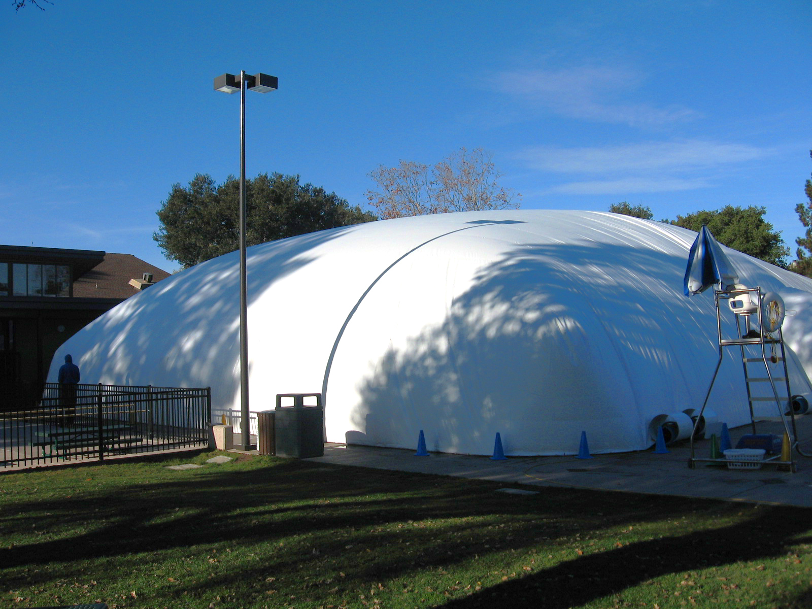 Commercial Pool Domes for Inground Pools