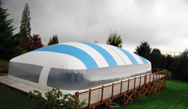 Inground Winter Swimming Pool Safety Cover Dome Ebay