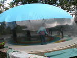 Play domes are also great for group exercising.