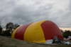 outside inflated dome