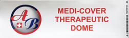 medi-cover therapeutic dome sticker