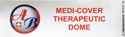 medi-cover therapeutic dome sticker