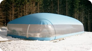 Swimming Pool Domes and Bubbles for Inground Pools