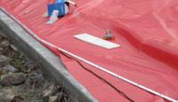 Sport Dome aluminum track