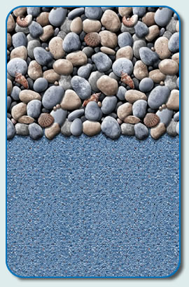 Above Ground Pool Liner Pattern Pebbles