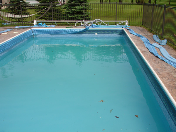 Inground Pool Liner Photo Gallery Ameri Shield Installation