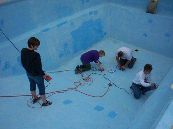 Inground Pool Liner Photo Gallery Retro Fit Vinyl Pool