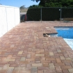 Deck is finished and looks good with pavers in place.