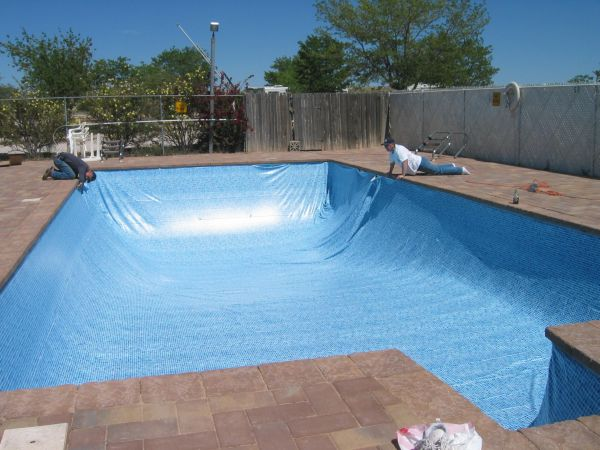 Inground Swimming Pool Liners Vinyl Liner Retro Fit For Plaster Concrete Or Fiberglass Pools