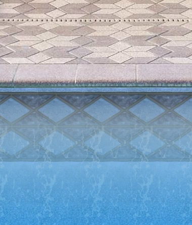 Blue Diamond Liner in Inground Pool
