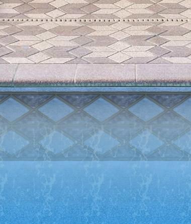 Blue Diamond Liner in Inground Pool