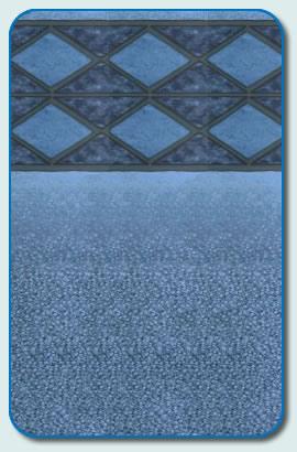Blue Diamond Liner Pattern