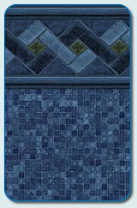 Blue Mountaintop Liner Pattern
