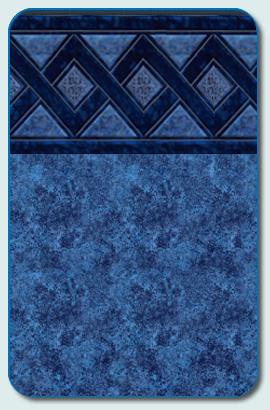 Olympia Marino Blue Liner Pattern