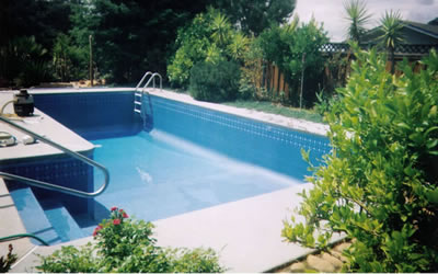 Inground pool liners liners ready for water - Cheap inground swimming pool liners ...