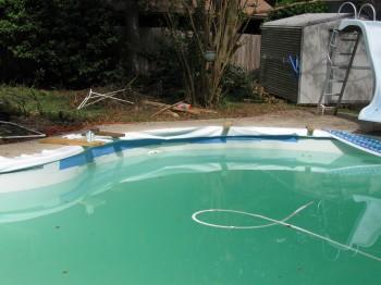 Inground Pool Liner Repair Cuts Rips Tears Bead