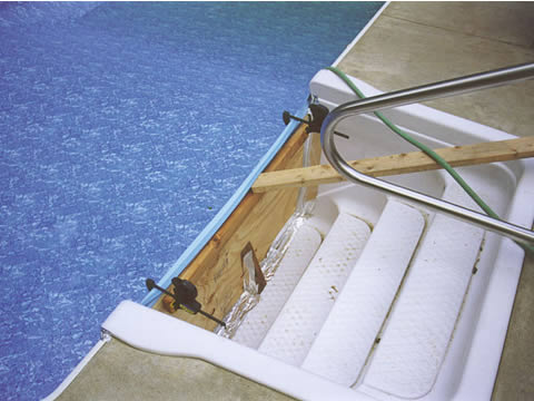 Inground Pool Liners Photo Album Of Pool Liner Installation 2