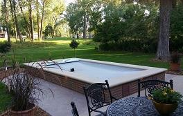 swim spa setup