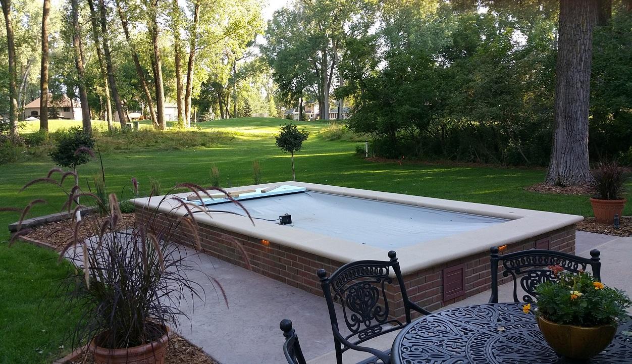 ... Patio Dome Enclosure Gorgeous Swim Spa Swim Spa Setup