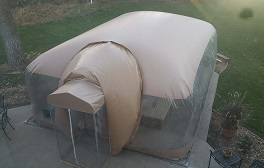 spa patio dome enclosure